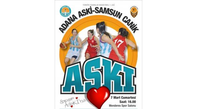Adana ASKİ, Samsun Canik'i bekliyor