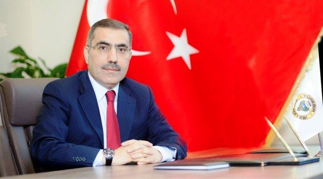 BAŞKAN ÇELİKCAN ''BAYRAM TÜM İNSANLIĞA HUZUR VE BARIŞ GETİRSİN''