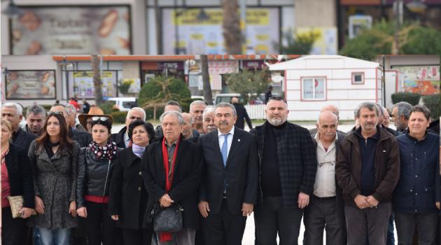 Ceyhan'da Uğur Mumcu'yu Anma Etkinliği düzenledi